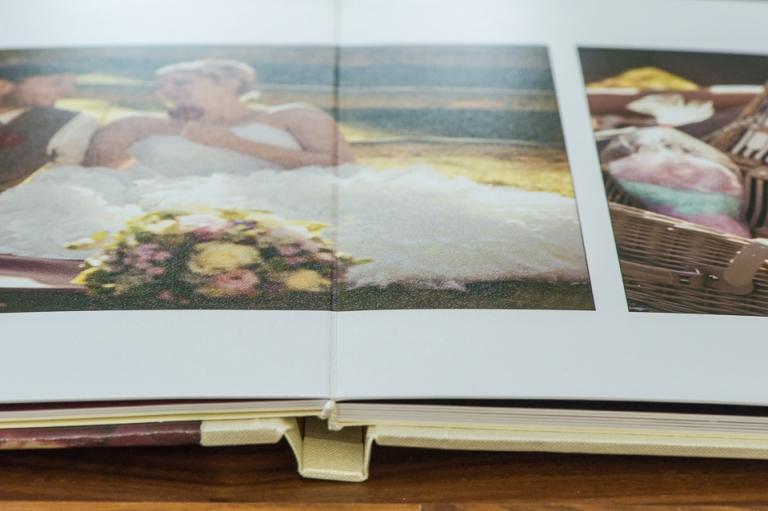Hochzeitsalbum Silverbook mit Barock-Einband
