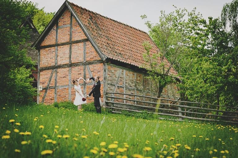 Hochzeit im Freilichtmuseum am Kiekeberg