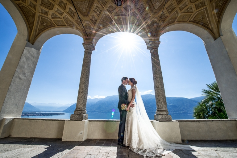 Afterweddingshooting Lago Maggiore