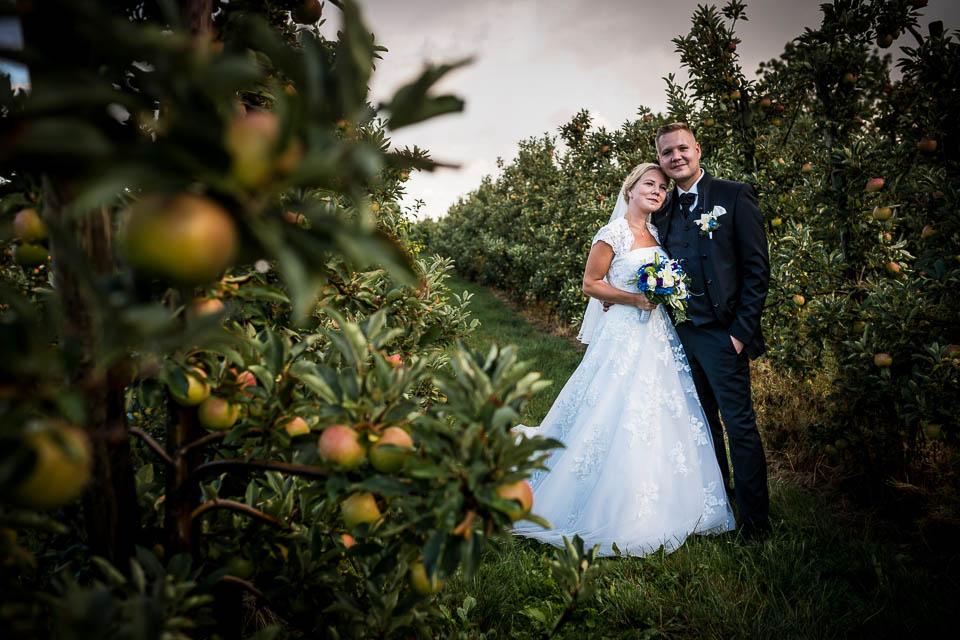 Hochzeit bei Hamburg im Alten Land, Jork an der Elbe