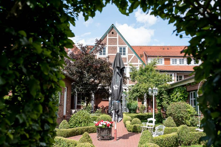 Hotel Altes Land Innenhof
