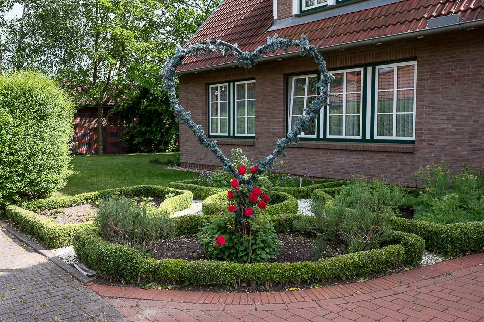Hotel Altes Land Eingang Gästehaus