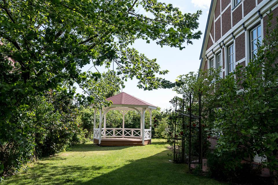 Hotel Altes Land Eingang - freie Trauung