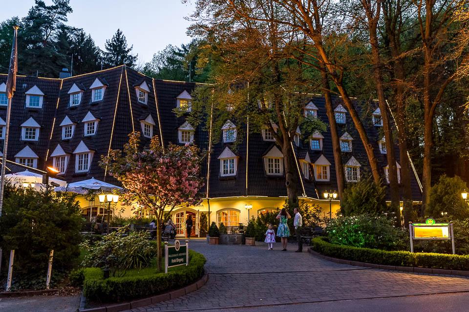 Waldhaus Reinbek bei Nacht